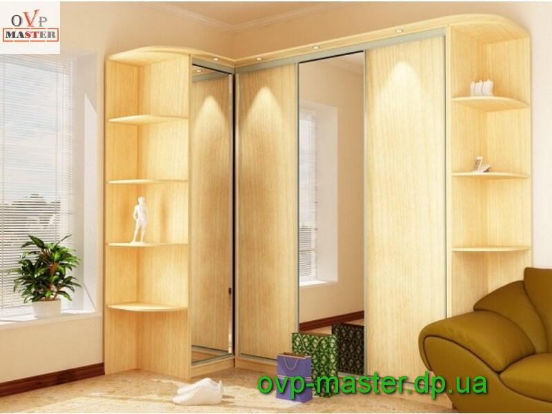 Cовременные шкафы-купе: фото, дизайн и варианты конструкций.